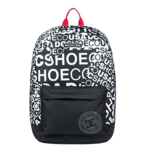 DC SHOES MENS BACKPACK.BACKSTACK LAPTOP BLACK RUCKSACK SCHOOL BAG 18.5L 9S 78 WB